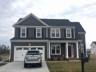 Chesapeake Single Family Home Under Contract: 1804 Carrera Rdg
