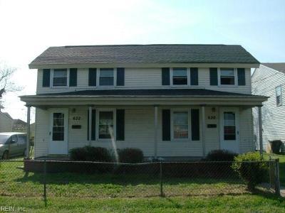 Newport News Single Family Home New Listing: 630 Hampton Ave
