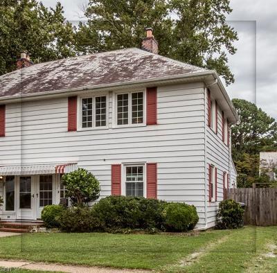Newport News Single Family Home New Listing: 84 Post St