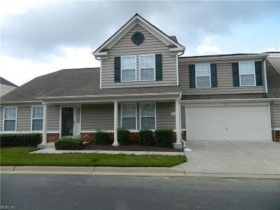 Chesapeake Single Family Home New Listing: 811 Nicholson Ct #72