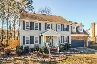 Chesapeake Single Family Home New Listing: 3136 Lynnhurst Blvd