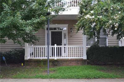 Hampton Single Family Home New Listing: 24 Miles Cary Mews Mews