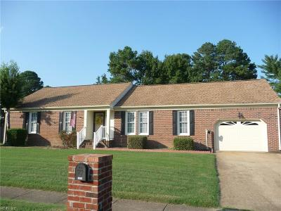 Chesapeake Single Family Home New Listing: 1218 Fordyce Dr