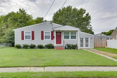 Hampton Single Family Home New Listing: 149 Ransone St