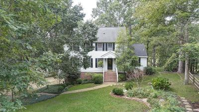 Williamsburg Single Family Home New Listing: 3308 Ash View