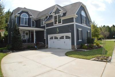Chesapeake Single Family Home New Listing: 209 Preservation Rch