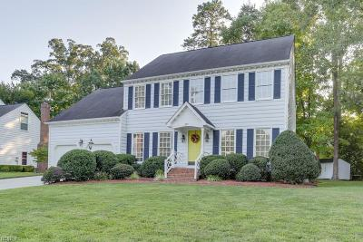 Newport News Single Family Home New Listing: 317 Watermill Rn
