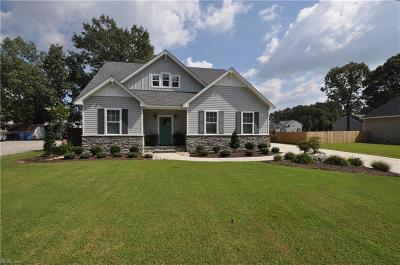 Chesapeake Single Family Home New Listing: 567 Waters Rd