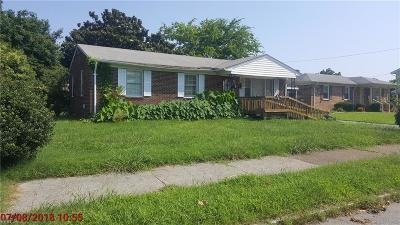 Portsmouth Single Family Home New Listing: 1100 Holladay St