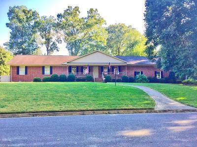 Newport News Single Family Home New Listing: 5 Prince George Ln