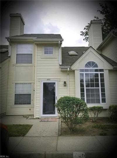 Newport News Single Family Home New Listing: 445 Lees Mill Dr