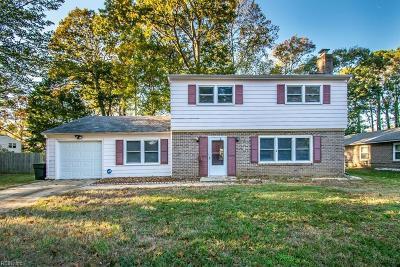 Hampton Single Family Home New Listing: 1043 Clipper Dr