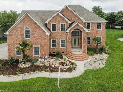 Chesapeake Single Family Home New Listing: 404 Vespasian Cir