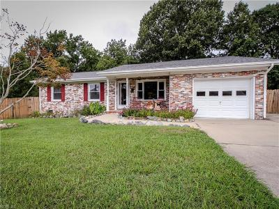 Newport News Single Family Home New Listing: 14 Lakeview Dr