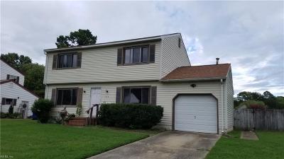 Newport News Single Family Home New Listing: 342 Marlboro Rd