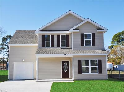 Chesapeake Single Family Home New Listing: 935 Hill St