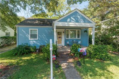 Portsmouth Single Family Home For Sale: 116 Culpepper Rd