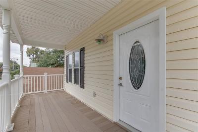 Norfolk Single Family Home For Sale: 9611 Chesapeake St