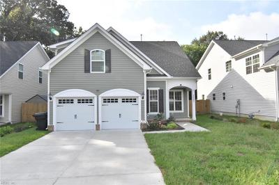 Virginia Beach VA Single Family Home New Listing: $395,900
