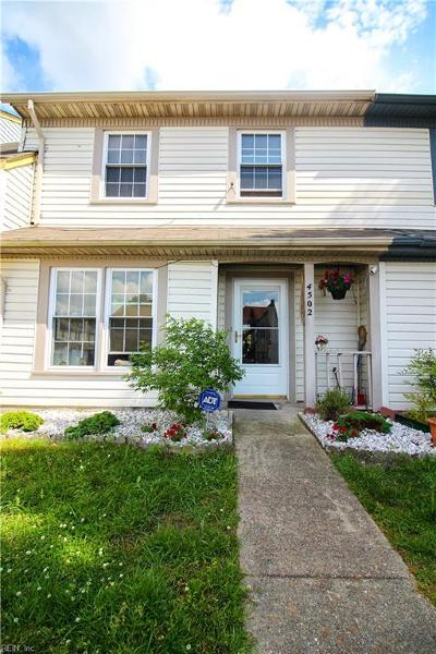 Virginia Beach VA Single Family Home New Listing: $184,500