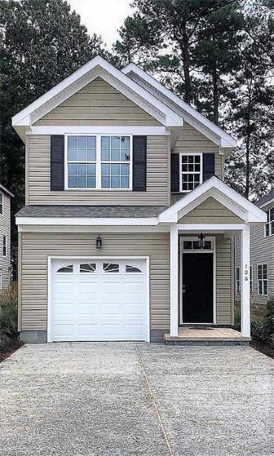 Virginia Beach VA Single Family Home New Listing: $320,000