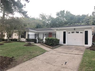 Virginia Beach VA Single Family Home New Listing: $335,000