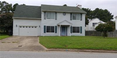 Virginia Beach VA Single Family Home Under Contract: $268,500