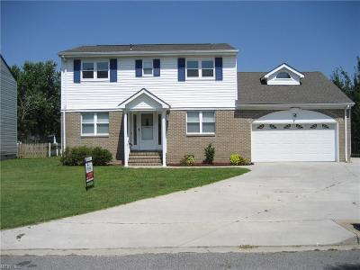 Virginia Beach VA Single Family Home New Listing: $324,900
