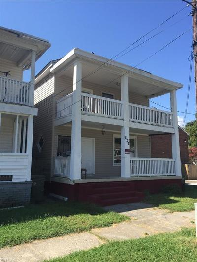 Norfolk Multi Family Home For Sale: 827 28th St