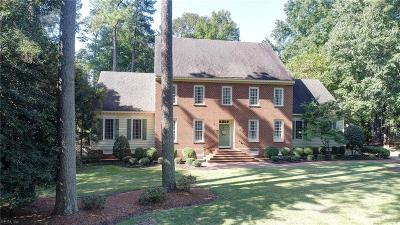 Williamsburg Single Family Home For Sale: 649 Fairfax Way