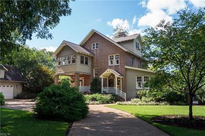 Norfolk Single Family Home For Sale: 3025 Vendome Ter