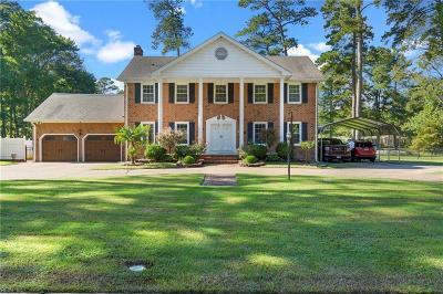Norfolk Single Family Home For Sale: 6619 Azalea Garden Rd