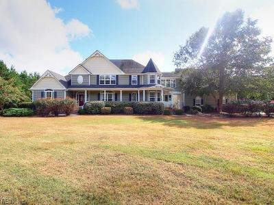 Chesapeake Single Family Home For Sale: 609 Benefit Rd