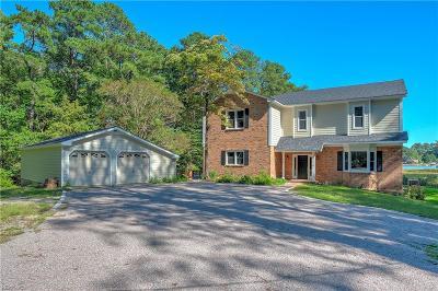 Virginia Beach Single Family Home For Sale: 955 Quail Run Quay