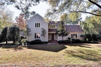 Newport News Single Family Home New Listing: 21 Spottswood Ln