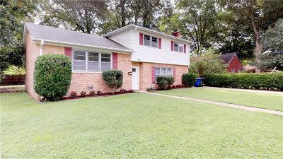 Newport News Single Family Home For Sale: 97 Jefferys Drive