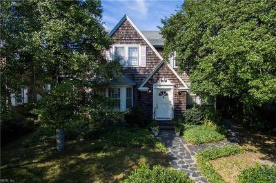 Virginia Beach Single Family Home For Sale: 103 46th St