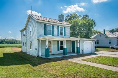 Suffolk Single Family Home For Sale: 6322 Whaleyville Blvd
