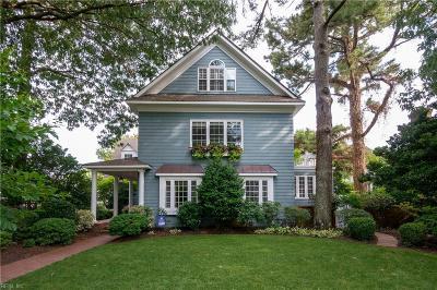 Virginia Beach Single Family Home For Sale: 314 49th St
