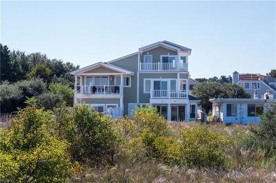 Virginia Beach Single Family Home For Sale: 2624 Ocean Shore Ave #B