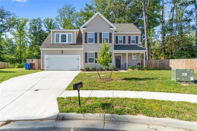 Western Branch Single Family Home For Sale: 5004 Myrica Ct