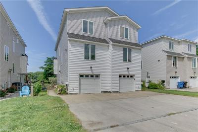 Virginia Beach Single Family Home For Sale: 4644 Lookout Rd