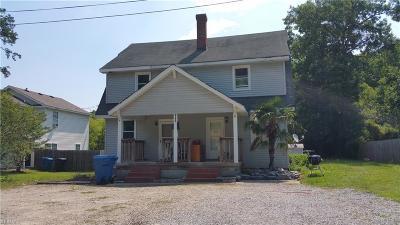 Virginia Beach Multi Family Home Under Contract: 406 Garcia Dr