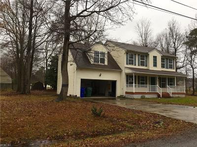Suffolk Single Family Home For Sale: 4412 Ellington Ave