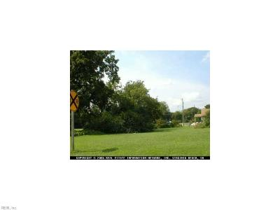 Chesapeake Residential Lots & Land For Sale: 1428 Hoover Ave