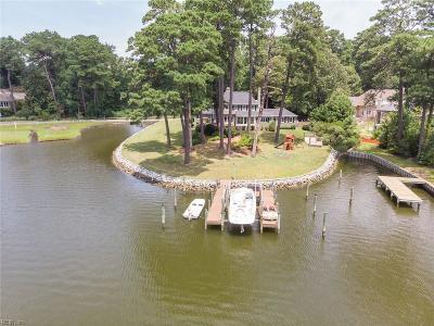 Virginia Beach Single Family Home For Sale: 1019 S Bay Shore Dr
