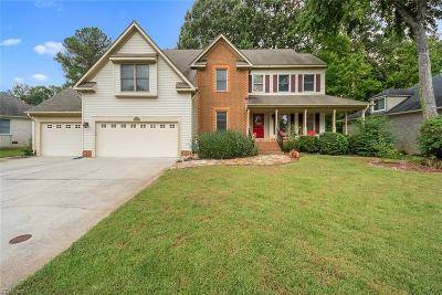 Chesapeake Single Family Home New Listing: 508 Ashforth Way