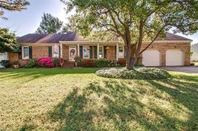 Chesapeake Single Family Home New Listing: 725 Wood Duck Ln
