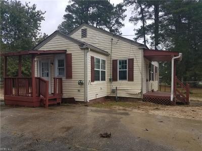 Franklin Single Family Home For Sale: 301 Taft Avenue Ave