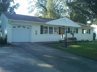 Virginia Beach Single Family Home New Listing: 413 Dorset Ave
